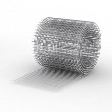 Сетка сварная 25х25х1,6мм, рулон (1,0 х 40) метра, чёрная