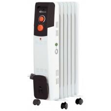 Радиатор масляный 5 секций, 1,2 кВт.