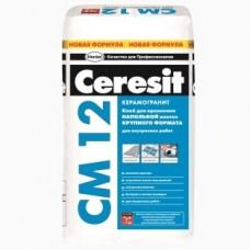Клей для напольной плитки крупного формата Ceresit CM 12 25 кг