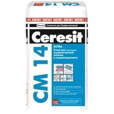 Клей для керамической плитки и керамогранита Ceresit CM 14 Extra 25 кг