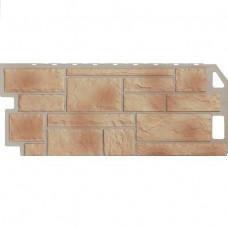 Панель фасадная FineBer Камень 1137х470 бежевый