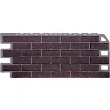 Панель фасадная FineBer Кирпич 1137х470 жжёный коричневый