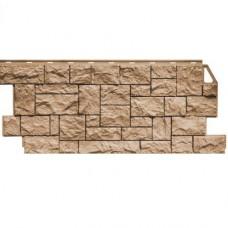 Панель фасадная FineBer Камень дикий 1117х46 терракотовый