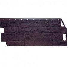 Панель фасадная FineBer Камень природный 1085х447 коричневый