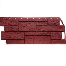 Панель фасадная FineBer Камень природный 1085х447 красно-коричневый