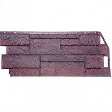 Панель фасадная FineBer Камень природный 1085х447 серо-коричневый