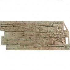 Панель фасадная FineBer Скала 1094х459 песочный