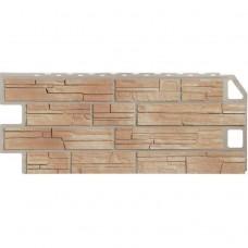 Панель фасадная FineBer Сланец 1137х470 Natur бежевый