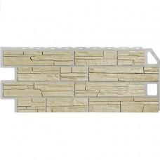 Панель фасадная FineBer Сланец 1137х470 песочный