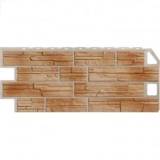 Панель фасадная FineBer Сланец 1137х470 терракотовый