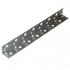 Профиль угловой PL 20х20 мм оцинкованный перфорированный 3 м