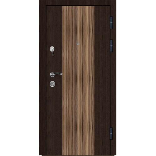 установка металлической двери цветной б
